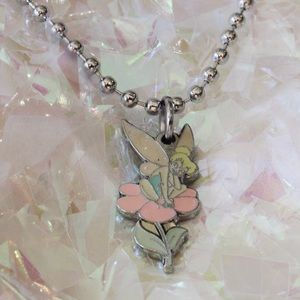 Jewelry - Vintage Tinkerbell Ball-Chain Choker
